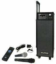 ETT 1877160 mobile Beschallungsanlage Hollywood Port8 Akku Funkmikrofon DVD