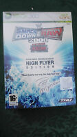SmackDown vs Raw 2008 High Flyer Edition XBOX 360 SIGILLATO EDIZIONE ITALIANA