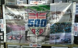 2007 91st Indianapolis 500 Event Collector Flag 3' x 5' Indy 500 IndyCar