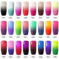 BELLE FILLE Temperature Mood Color Change Nail Gel Polish Soak-off  UV Manicure