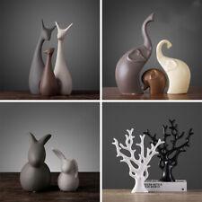Modern Porcelain Animal Ornaments Home Living Room Desk Handicraft Decoration