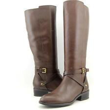 Lauren Ralph Lauren Mariah-W Women US 6.5 Brown Knee High Boot Blemish  18076