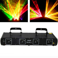 360mW 4Lens DMX Stage Laser Light Stage Disco DJ Lazer Light Beam Show 55C+