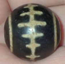 20mm Rare Antique Indo -Tibetan Sulemani Chung old Agate bead, #S2202