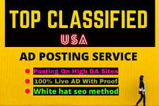 100 Manually Classified Ad Posting Service Free Report