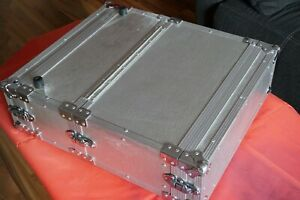 "3 HE Doppel-CD-Player Case Flightcase 19"" Rack CD Player"
