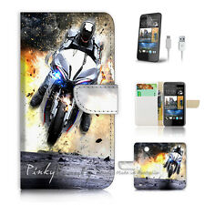 ( For HTC Desire 310 ) Case Cover! Motocycle Rider P0343