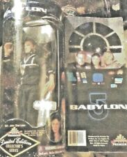 "Babylon 5 Cpt. John Sheridan 9"" Figurine - 1997 New In Unopened Box Numbered"