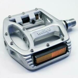 Wellgo MG1 Magnesium Platform Pedals Silver