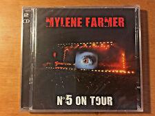 Mylene Farmer No. 5 On Tour - Euro 2 CD Jewel Case NEW