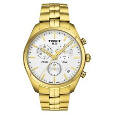 Tissot T1014173303100 T-Classic PR 100 Chronograph Gold Tone Analog Men's Watch