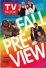 TV Guide Magazine September 10-16, 1983 FALL PRE-VIEW Scarecrow And Mrs King+