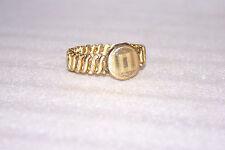 Antique Expandable Carmen DFB CO USA Locket Bracelet Gold Filled
