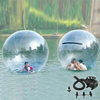 1.5m Water Walking Ball Inflatable 0.8mm PVC Lawn Park Kids Family Game W/Blower