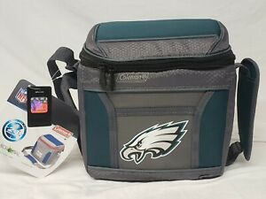 Coleman Cooler NFL Philadelphia Eagles 24 hour cooler New lunch box 9 can party