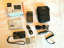 Sony DSCWX220 18.2 MP Digital Camera - Black- Excellent Condition