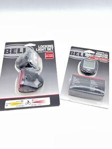 Bell Radian 450 Bicycle Locking Light Set & Dashboard 300 Cycle Computer