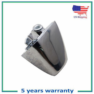 Front or Rear Outside Door Handle End Cap Cover New For 06-10 Hummer H3 Chrome
