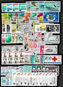 TRISTAN DA CUNHA --Collection of Various Stamp Issues