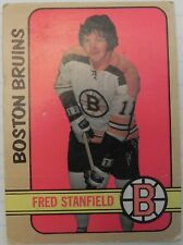 1973-74 OPC O-Pee-Chee Fred Stanfield #150 Boston Bruins