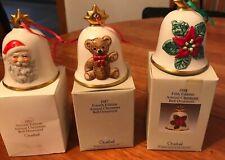 Lot of 3 Goebel Hummel Vintage Figurine Annual Bells 1985/1987/1988 West Germany