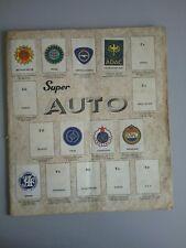 ALBUM FIGURINE   SUPER MOTO  ANNI 70/80  , DA RESTAURO O RECUPERO FIGURINE