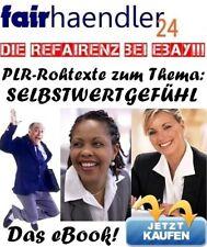 PLR-ROHTEXTE zum Thema SELBSTWERTGEFÜHL 17 Texte zum bearbeiten TOPVERDIENST PLR