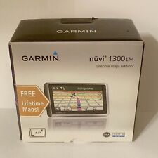 Garmin Nuvi 1300lm GPS Lifetime Maps Edition- New Open Box