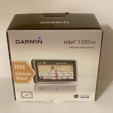 Garmin Nuvi 1300lm GPS Lifetime Maps Edition- New Open Box