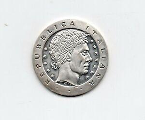 ITALIE - Italy -- Monnaie de 10 Euro argent non datée