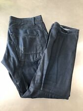 G-Star Size 36x32 denim jeans waxed VGUC mens indigo wash