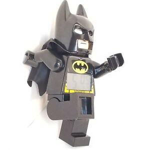 Alarm Clock Lego Batman DC Comics Digital Display Action Figure Retired Clictime