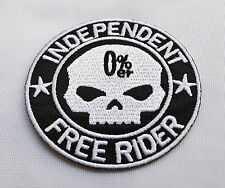 Free Rider!!,Patch,Aufnäher,Aufbügler,Chopper,Iron On,Badge,Harley,Motorcycles
