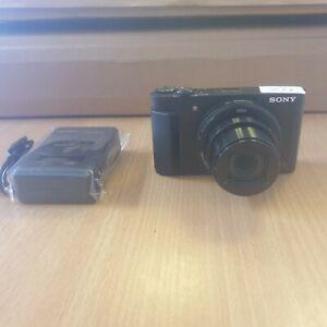 Sony Cyber-shot DSC-HX90 18.2MP Digital Camera - Black (Y4)