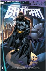 🦇FUTURE STATE THE NEXT BATMAN #1 KEN LASHLEY EXCLUSIVE VARIANT
