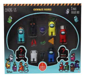 New AMONG US Crewmate Figures 8 pack  Assorted by Toikido - New
