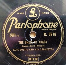 Earl Bostic & His Orchestra - The Sheik Of Araby / Cracked Ice -Parlophone R3976