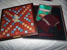 SCRABBLE  2000 DE LUXE  EDITION  GAME  COMPLETE