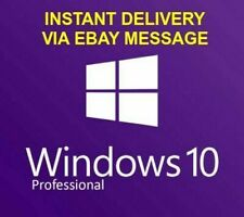 Microsoft Windows 10 Professional 32/64 Bits Product Key Win 10 Pro Vollversion