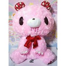 "GLOOMY BEAR Plush Doll Teddy Grizzly Type-Argyle Pink 30cm12"""