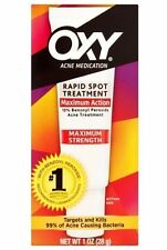 Oxy Spot 10 Treatment for Acne 1oz -Expiration Date 02-2020-