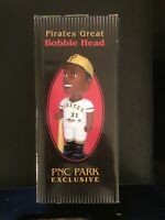Roberto Clemente-Pirates Great-Bobble Head- 9/08/2001- PNC SGA- New Unopened