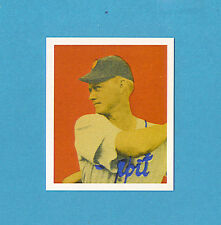 1949 Bowman Walter Evers Detroit Tigers #42 Baseball Card