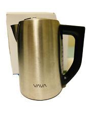 New Vava Va-Eb015 1.7L Cordless Electric Kettle - Silver
