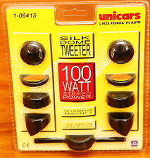 Unicars  F06.415 silk dome tweeters 100 watts