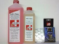 SHB Swiss Kalk Clean Entkalker + 0,5L Milchschaumreiniger + Reinigungstabletten