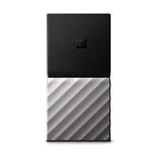 WD My Passport SSD Solid State Disk 512 GB - Black/Silver