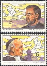 Belgium 1994 Pope John Paul II Visit/Medical/Health/Welfare/Leprosy 2v (n45475)