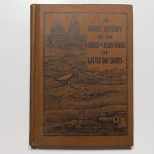New listing Brief History Church of Jesus Christ Lds Vtg 1928 Anderson Mormon Book