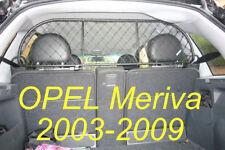 Trennnetz Trenngitter Hundenetz Hundegitter OPEL Meriva 2003-2009